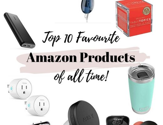 Top 10 Favourite Amazon Products of All Time!