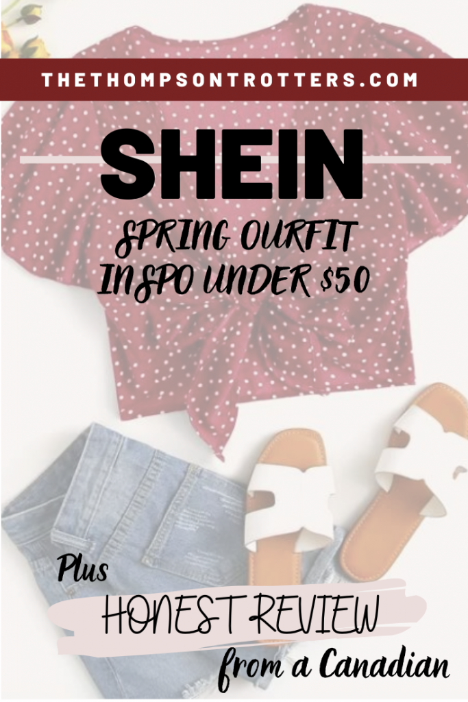 SHEIN SPRING OUTFIT INSPO UNDER $50