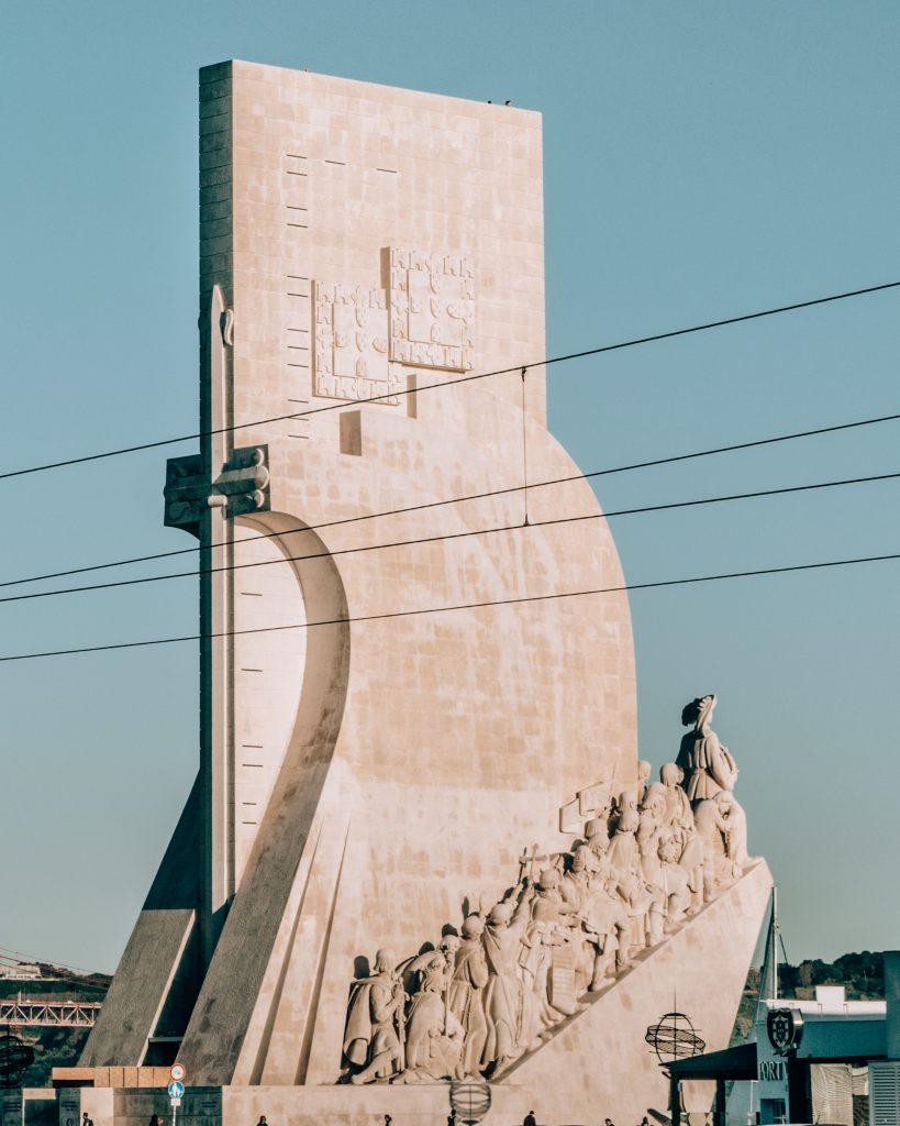 Statue in Belem, Lisbon, Portugal