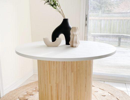 DIY Dowel Table
