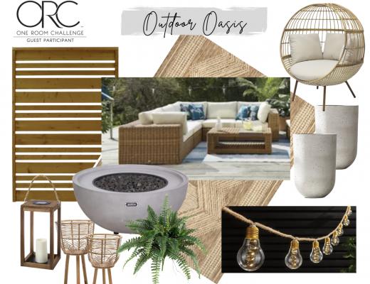 Backyard One Room Challenge Outdoor Oasis Transformation